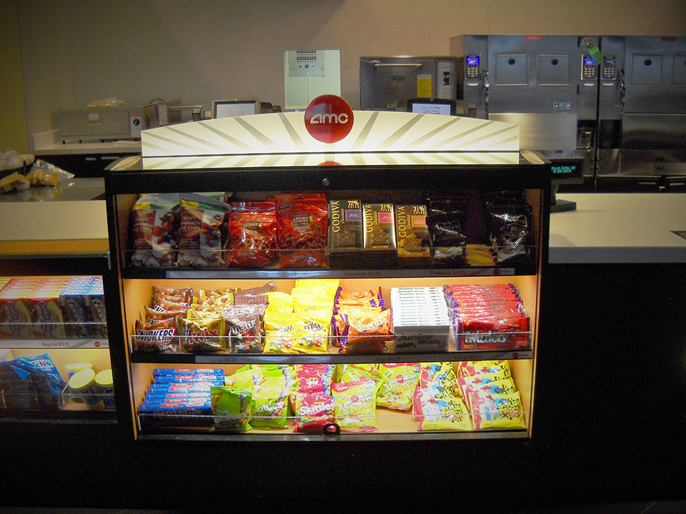 Self Serve Candy Display